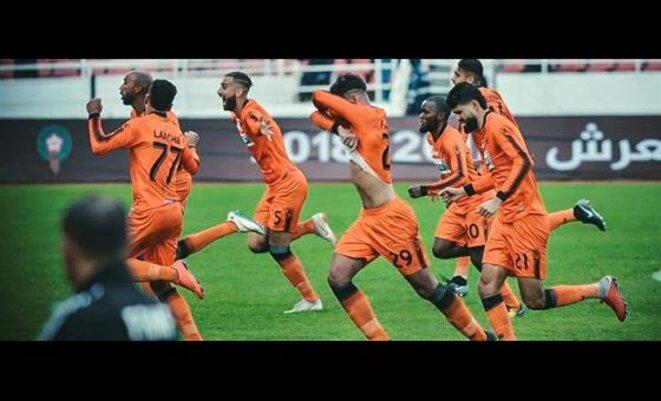 Berkane : L'équipe de Nemssaoui.