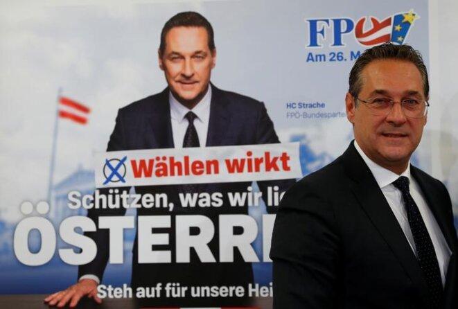 Heinz-Christian Strache. © Reuters