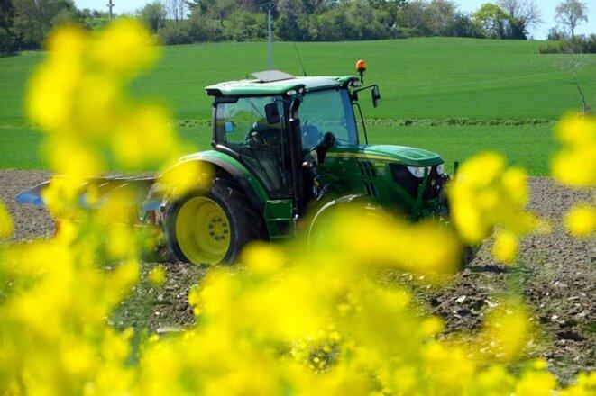 Une exploitation agricole à Ardevon (Normandie). © Reuters