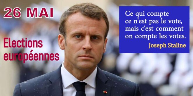 Macron et les élections européennes © Pierre Reynaud