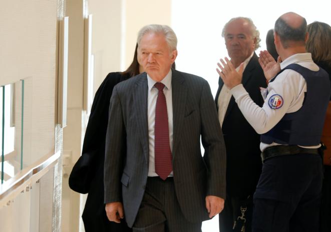 Louis-Pierre Wenes, l'ex-numéro 2 de France Télécom. © Reuters/Charles Platiau