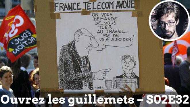 Usul. France Télécom: quand le harcèlement fait système