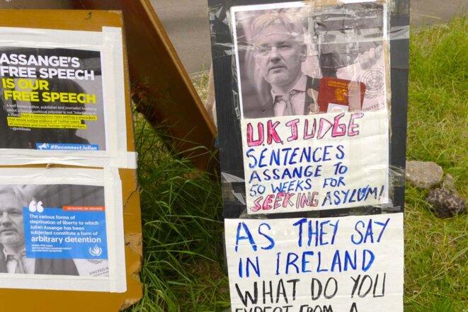Belmarsh, 2 mai 2019. © @L.Assange.E&M
