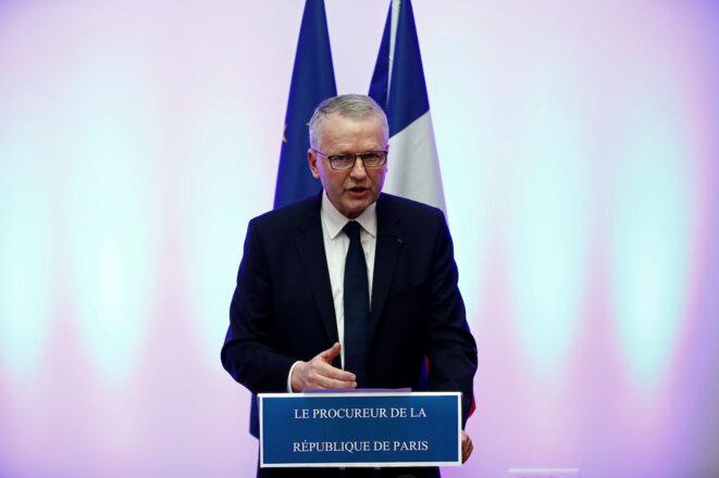 Rémy Heitz, le procureur de Paris, le 12 décembre 2018. © Reuters