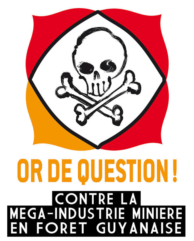 Collectif citoyen opposé aux projets industriels d'exploitation minière en Guyane. Apolitique et non-violent
