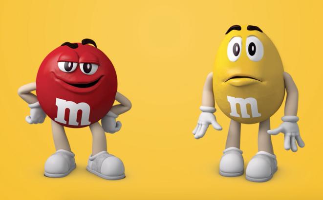 Les personnages de la publicité M&M's. © DR