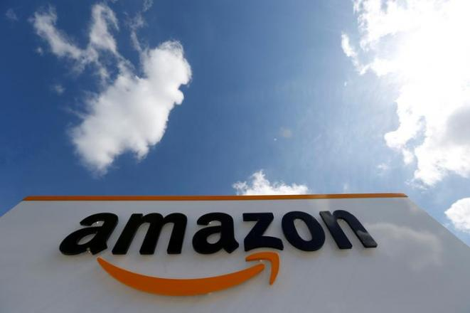 Un centre logistique Amazon à Boves (Somme). © Reuters