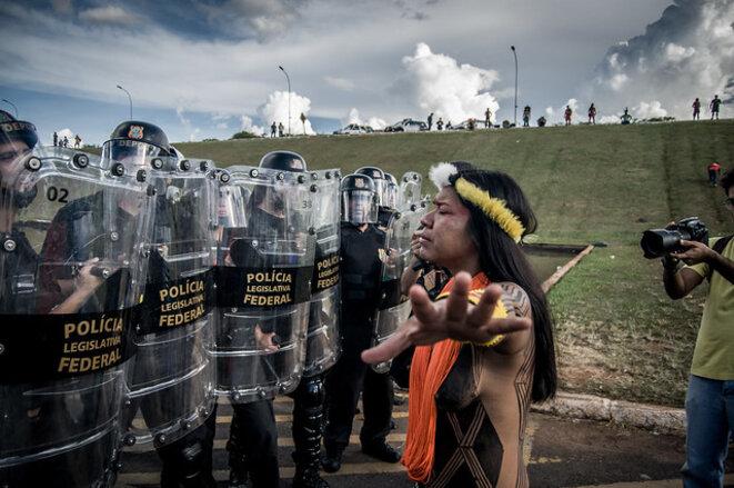 Acapamento Terra Livre (Photo APIB Comunicação)