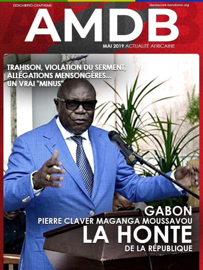 L'ex-vice président de la République, M. Pierre Claver Maganga Moussavou