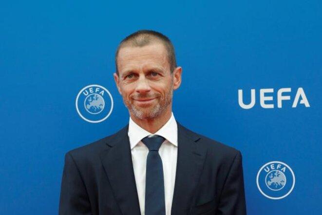 Aleksander Čeferin, président de l'UEFA depuis le 14 septembre 2016. © Reuters