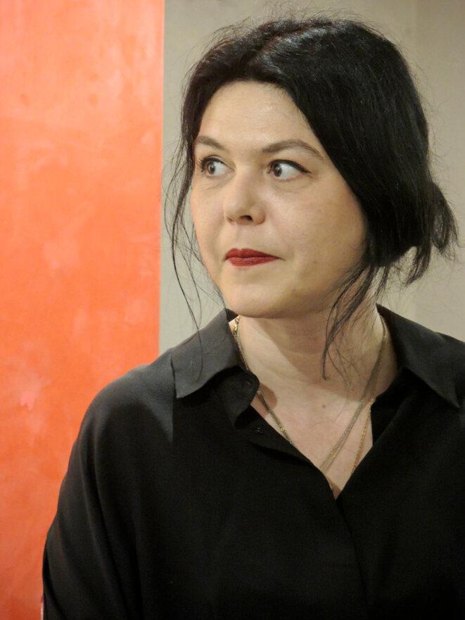 Chloé Delaume, Les filles du loir, Paris 23 mai 2019 © Gilles Walusinski