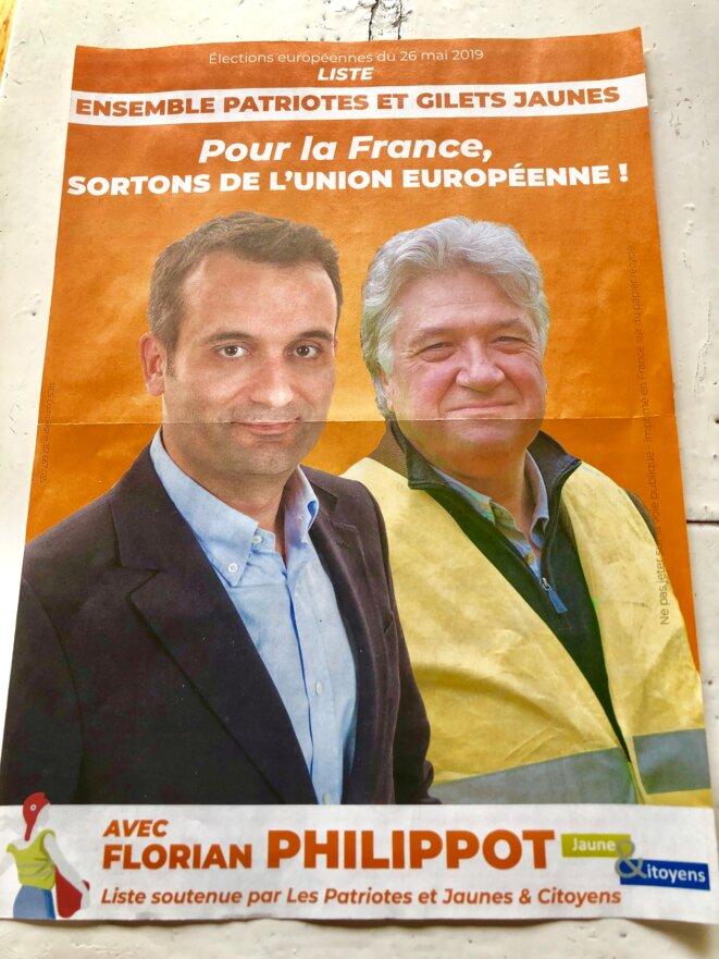 Prix 2019 de la récupération politique.