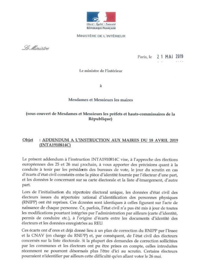 Un courrier adressé mardi par Christophe Castaner aux élus locaux, dont LCI a obtenu une copie jeudi,