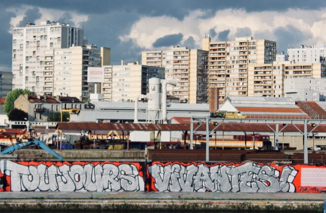 Graffiti ER CREW pour Citoyenne Féministe, Paris © Citoyenne Féministe