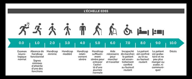 Expanded Disability Status Scale / Echelle des niveaux de handicap