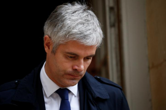 Laurent Wauquiez en 2018 © Reuters