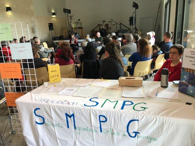 Journée d'information par les collectifs du Gers [Photo YF]