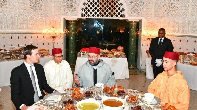 Jared Kushner à l'iftar de Mohammed VI