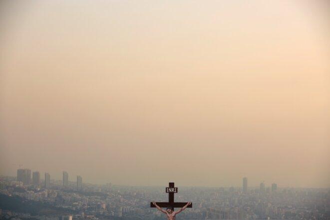 """Patrick Baz, série """"Chrétiens du Liban"""", 2015-2016, Photographie, Exposition """"C'est Beyrouth"""", Institut des cultures d'Islam, Paris. 2019 © Patrick Baz"""