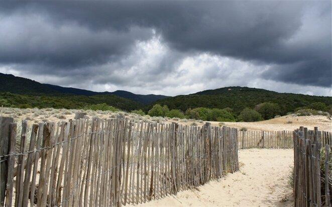 Nuages sur la plage de Cupabia © Patrice Morel (mai 2019)