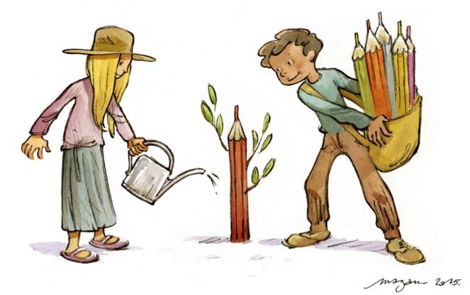 jardin-crayons