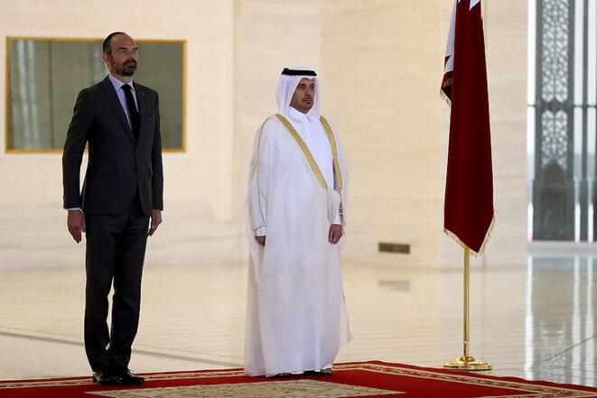 Edouard Philippe en visite officielle au Qatar
