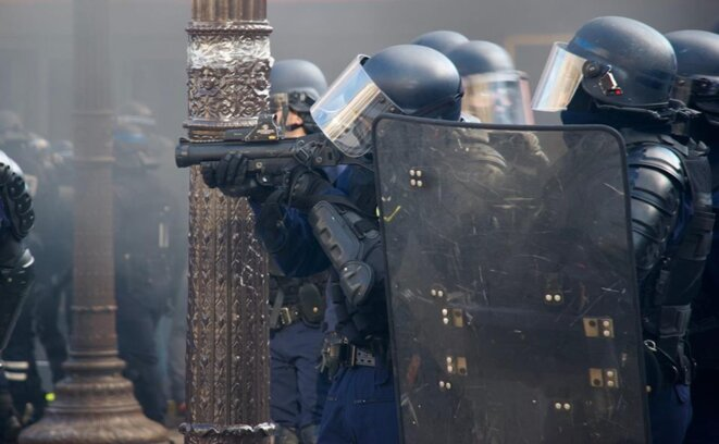 Paris le 16/03/2019. © Pierre Thomas/IPR