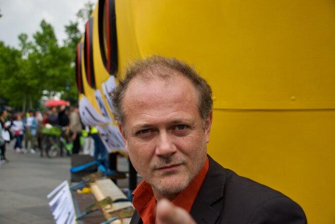 Le réalisateur de documentaire Vincent Glenn. Paris le 25/05/2019 © Pierre Thomas/IPR