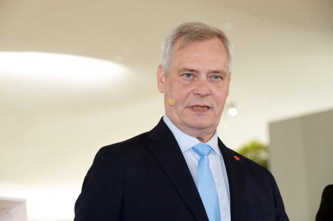 Antti Rinne, premier ministre social-démocrate de Finlande. © Reuters