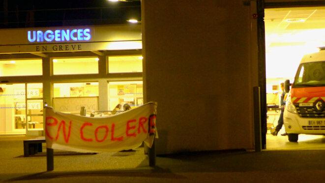 Mâcon. Urgences, Colère. © BB Libre_usage