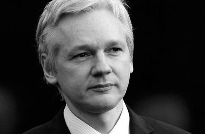 Julian Assange - capture d'écran