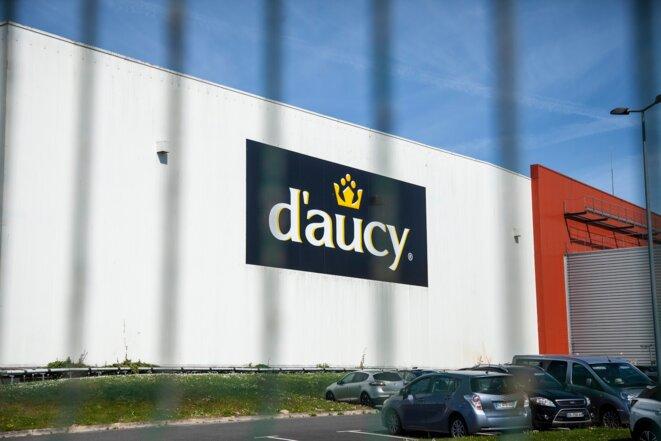 Le siège du groupe D'aucy, à Theix-Noyalo (Morbihan). © Sarah Hadrane
