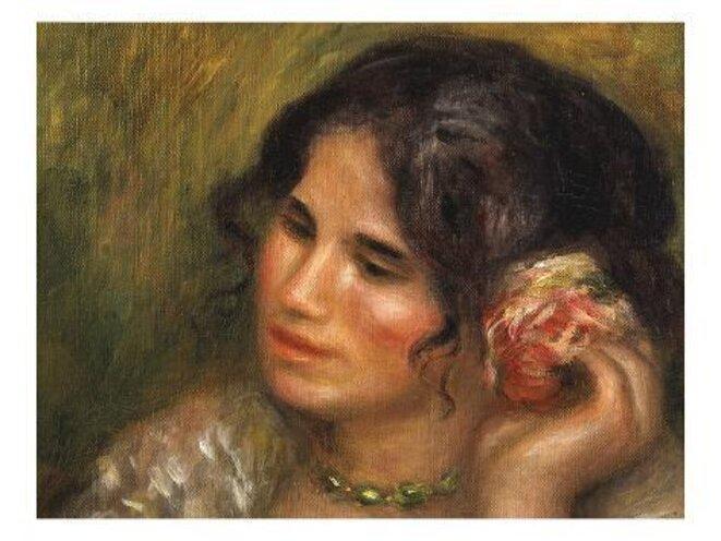 pierre-auguste-renoir-gabrielle-a-la-rose-gabrielle-with-a-rose-1911-detail