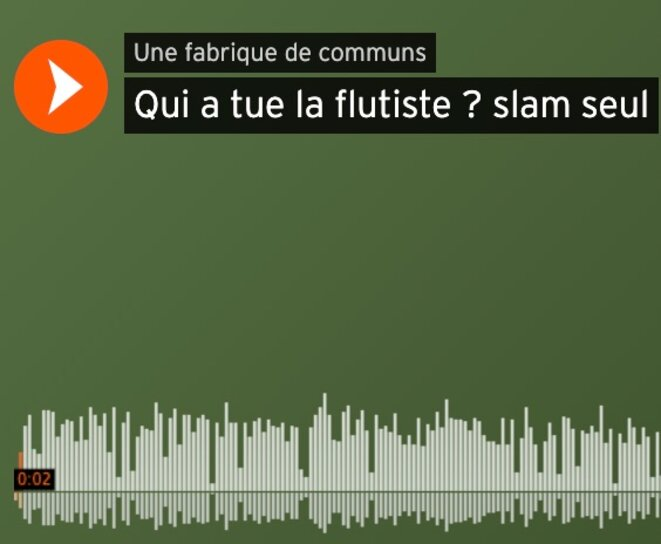 Slam sur Sound Cloud © Christian Bois