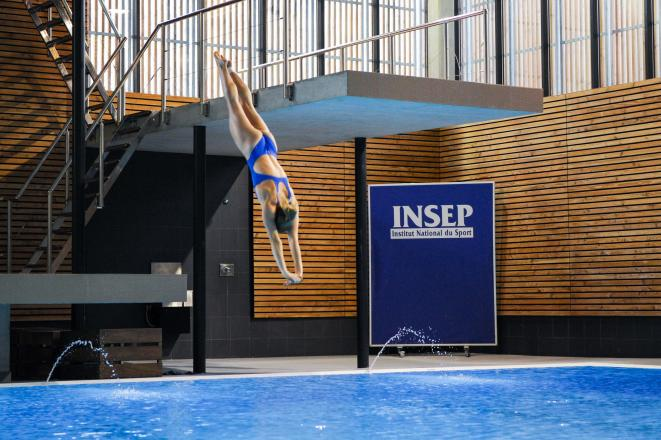 Implanté sur 28 hectares, l'Insep accompagne près de 600 athlètes de haut niveau dans leur préparation. © Insep