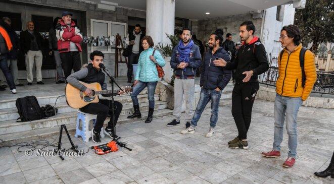 L'Art dans la rue à Béjaia © Said Ouarti