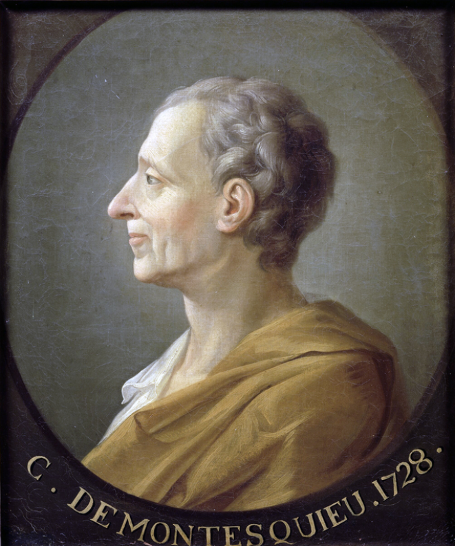 Montesquieu (d'après Dassier), château de Ver'sailles (domaine public) © https://commons.wikimedia.org/wiki/File:Montesquieu_1.png