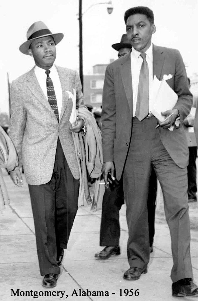 Avec Martin Luther King. © Walter Naegle/Estate of Bayard Rustin