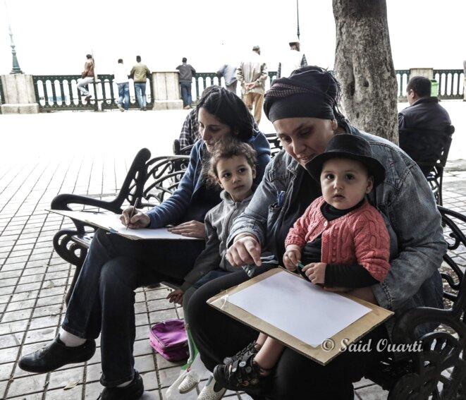 Art dans la rue à Béjaia © Said Ouarti