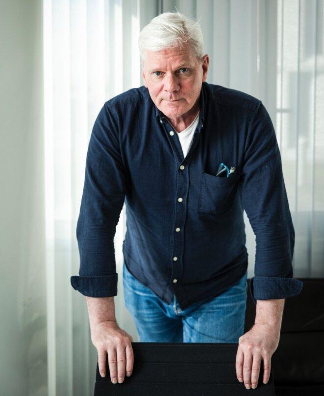 """Kristinn Hrafnsson, rédacteur en chef de WikiLeaks : """"Je suis conscient des risques qui s'attachent au poste."""" © Steffen Roth/ DER SPIEGEL"""