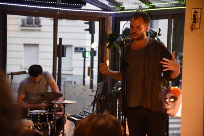 Alexandre Pallu et ses musiciens  au bar Chez Juliette © Claire PatrisGreen