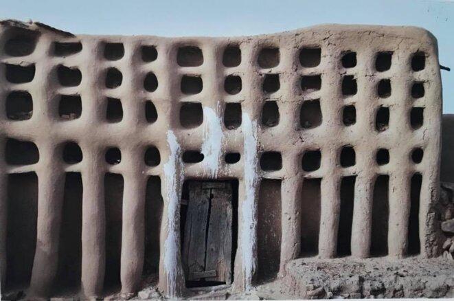 Maison du hogon, la plus haute autorité spirituelle chez les Dogons (ici, à Sangha).