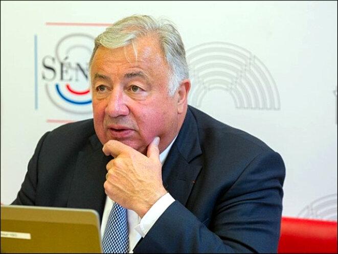 Gérard Larcher, président du Sénat, en 2017 © (P.Deprez), Wikimedia Commons, CC-BY-SA int. 4.0 [Recadrée depuis l'original]