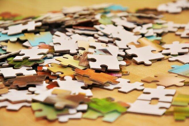 Puzzle éclaté... © CongerDesign, Pixabay.com, domaine public (CC0)