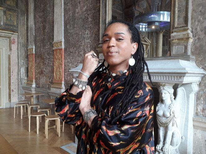 Erica Malunguinho, le 14 juin 2019 à la Gaîté-Lyrique à Paris © Amélie Poinssot