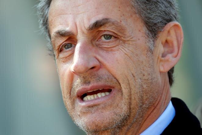 Nicolas Sarkozy, el 21 de marzo de 2019, en París. © Reuters
