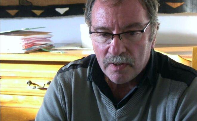 Yves Minguy en 2011. © Mathieu Magnaudeix et Hugo Vitrani