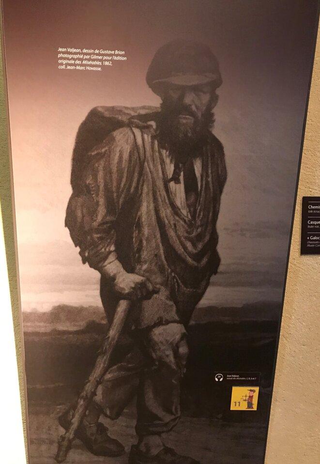 Jean Valjean, Musée VH [Ph. YF]