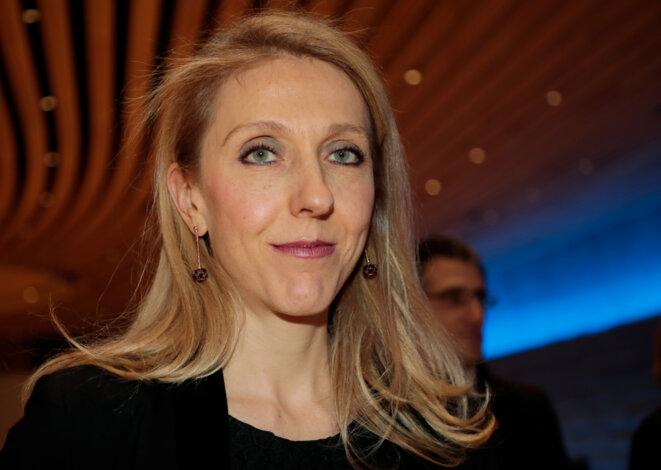 Sibyle Veil, la présidente de Radio France. © Reuters