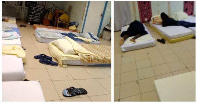 Dormir par terre dans un réfectoire : ce qui était une sanction est devenu la norme au CDE de Metz.